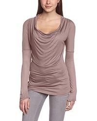 T-shirt à manche longue rose Blaumax