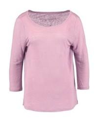 T-shirt à manche longue rose Gap