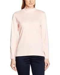 T-shirt à manche longue rose Hajo