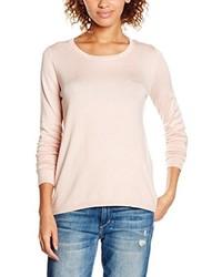 T-shirt à manche longue rose Ichi