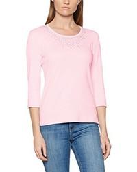 T-shirt à manche longue rose Olsen