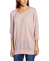 T-shirt à manche longue rose Only