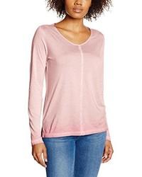 T-shirt à manche longue rose s.Oliver