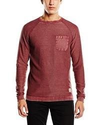 T-shirt à manche longue rouge Jack & Jones