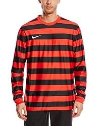 T-shirt à manche longue rouge Nike