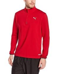 T-shirt à manche longue rouge Puma