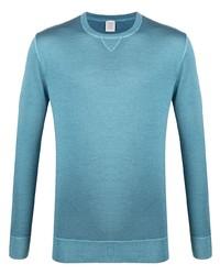 T-shirt à manche longue turquoise Eleventy