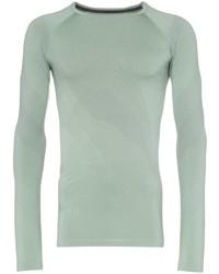 T-shirt à manche longue vert menthe Asics