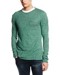 T-shirt à manche longue vert menthe Esprit