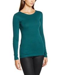T-shirt à manche longue vert Dorothy Perkins