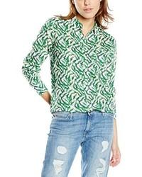 T-shirt à manche longue vert Lee