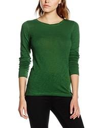 T-shirt à manche longue vert Marc O'Polo