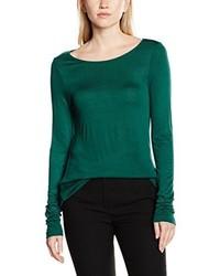 T-shirt à manche longue vert More & More