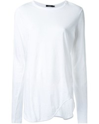 T-shirt blanc Bassike