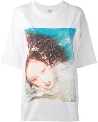 T-shirt blanc Kenzo