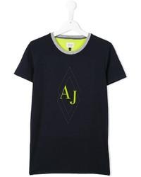 T-shirt bleu marine Armani Junior