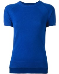 T-shirt en tricot bleu MICHAEL Michael Kors