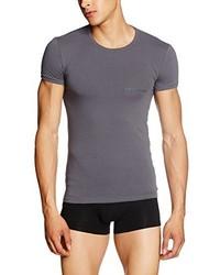 T-shirt gris foncé Emporio Armani