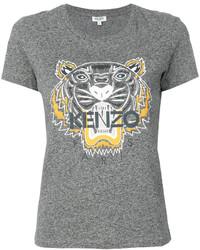 T-shirt gris Kenzo