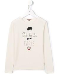 T-shirt imprimé blanc Emile et Ida
