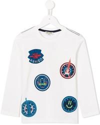 T-shirt imprimé blanc Kenzo