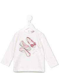 T-shirt imprimé blanc MonnaLisa