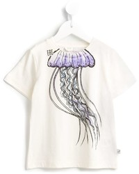 T-shirt imprimé blanc Stella McCartney