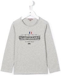 T-shirt imprimé gris Emile et Ida