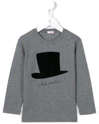 T-shirt imprimé gris Il Gufo