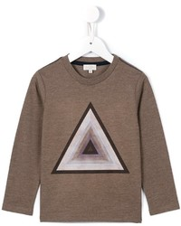T-shirt imprimé marron Paul Smith
