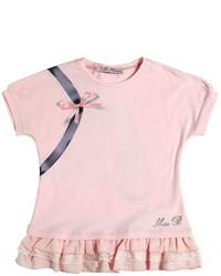 T-shirt imprimé rose