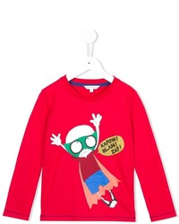 T-shirt imprimé rouge Little Marc Jacobs