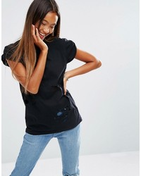 T-shirt noir Asos