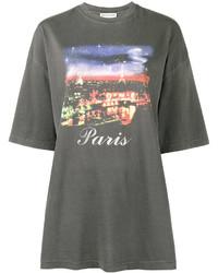 T-shirt noir Balenciaga