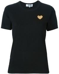 T-shirt noir Comme des Garcons