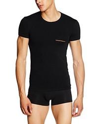 T-shirt noir Emporio Armani