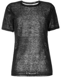 T-shirt noir Isabel Marant