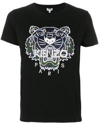 T-shirt noir Kenzo