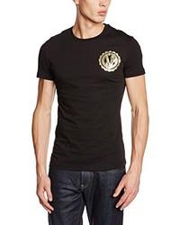 T-shirt noir Versace
