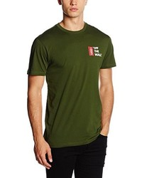 T-shirt olive Vans