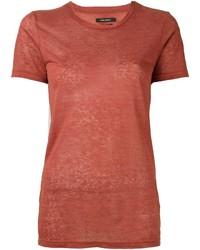 T-shirt rouge Isabel Marant