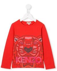 T-shirt rouge Kenzo