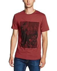 T-shirt rouge ONLY & SONS