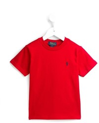 T-shirt rouge Ralph Lauren
