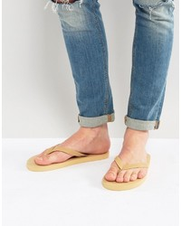 Tongs beiges Asos