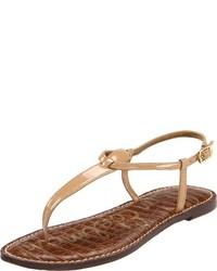 Tongs beiges Sam Edelman
