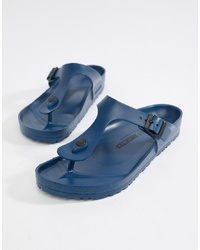Tongs bleues Birkenstock