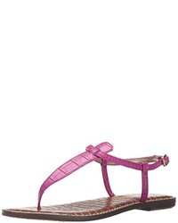 Tongs fuchsia Sam Edelman