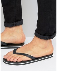 Tongs noires Asos