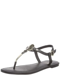 Tongs noirs Tommy Hilfiger